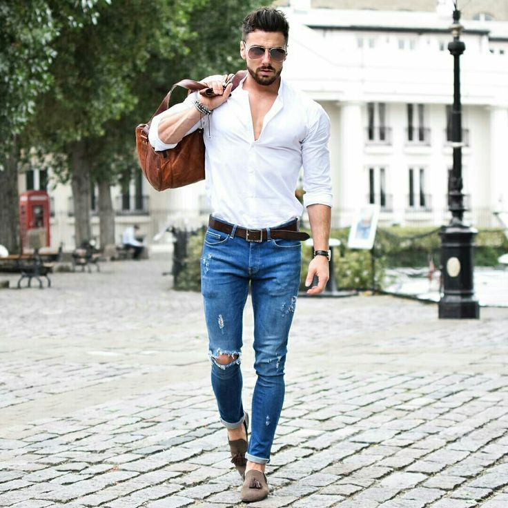 Style - Distressed Jeans,