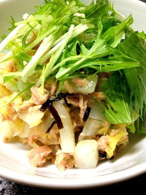 これはイケます。 美味しいです。  白菜バンザ〜〜イ! - 12件のもぐもぐ - 白菜サラダ by nuutarou