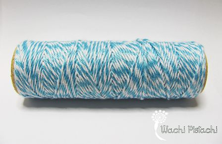 Baker Twine azul cyan