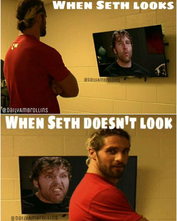 Sometimes we just have to laugh about our own edits, even though they're old #DeanAmbrose #SethRollins #WWE Daily Ambrollins (@DailyAmbrollins) | Twitter