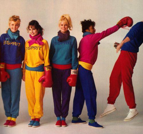 periodicult:  Esprit Sport, Glamour magazine, September 1983.
