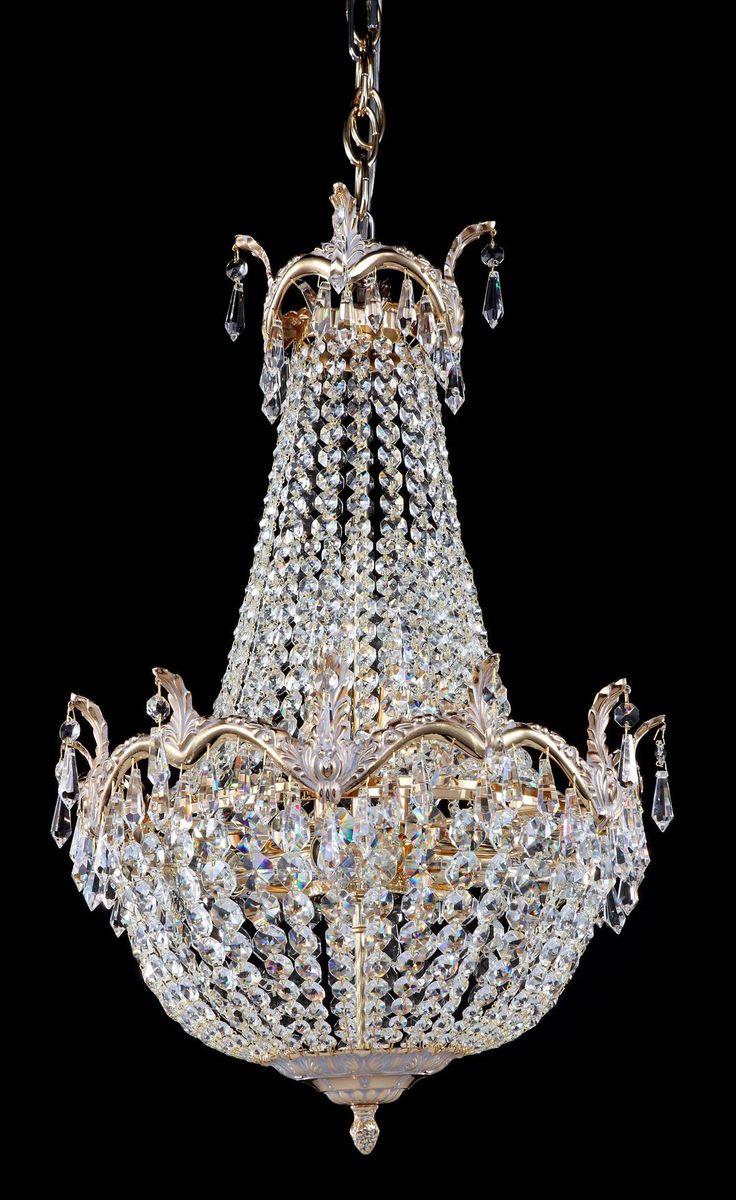 Diamant crystal Kronleuchter Versailles Weiß-gold #kronleuchter #klassisch…