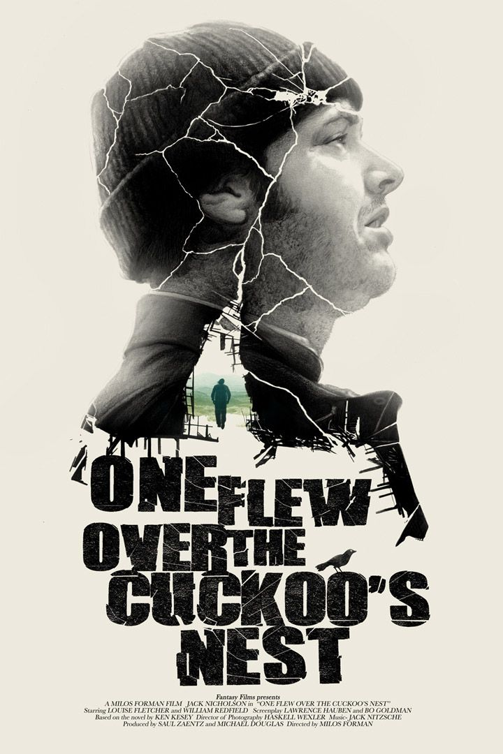 One Flew Over The Cuckoo's Nest by Greg Ruth, via From up North
