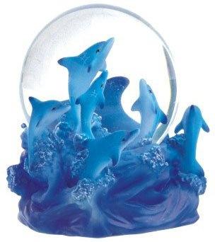 Snow Globe Dolphin Collection