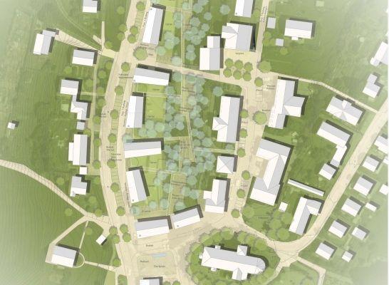 1st Prize: Lageplan, © MORPHO-LOGIC | Architektur und Stadtplanung, Lex-Kerfers Landschaftsarchitekten BDLA