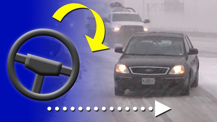 How to correct a slide on an icy road (and how to prevent them) - Winter driving education - YouTube