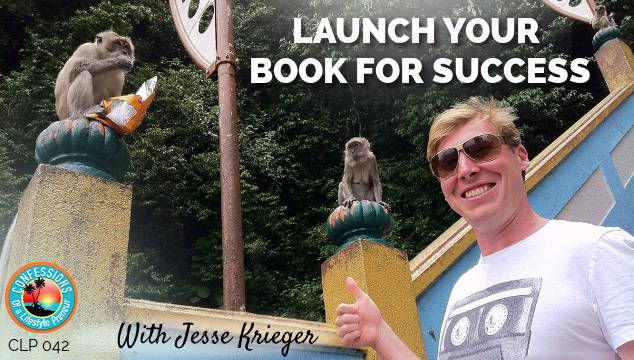 In today's episode we speak with author, entrepreneur, and world traveler Jesse Kreiger. Jesse is the author of the book Lifestyle Entrepreneur. In this episode, Jesse shares his formula for writin...