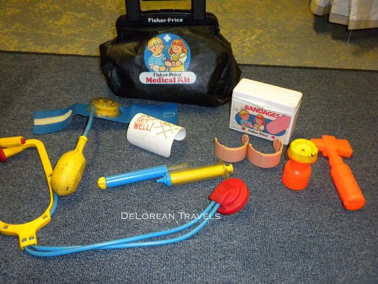 Fisher-Price Medical Kit.. This was sooooo fun!!