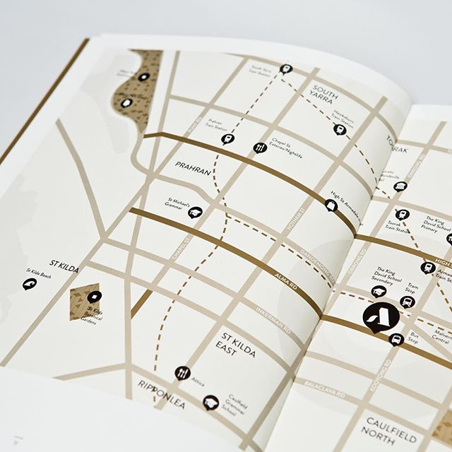 Small & Co - St Arnaud Brochure Map Design