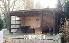 25 beste idee n over buiten open haard op pinterest vuurplaats buiten vuurkorven en bouw - Prieel buiten ...