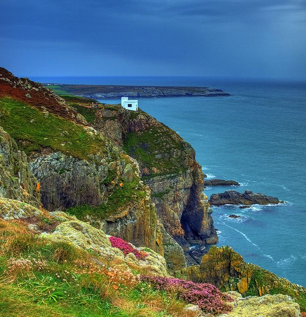 Anglessey - South stack near Holyhead.  United Kingdom