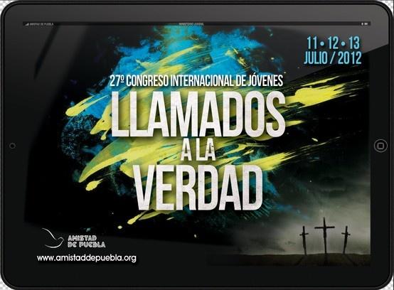 Folleto Congreso de Jóvenes Amistad de Puebla 2012