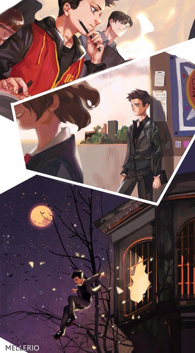 Damian Wayne Gotham Academy.