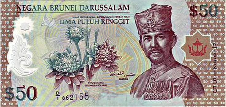 An image of the B$50. #50 #Currency #BruneiSoutheast Asian, Asian Currency, Currency Brunei, 50 Currency