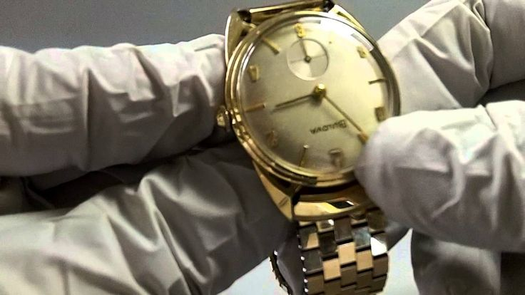 "RARE VINTAGE SWISS BULOVA ""PRESIDENT"" MECHANICAL WIND UP WATCH"