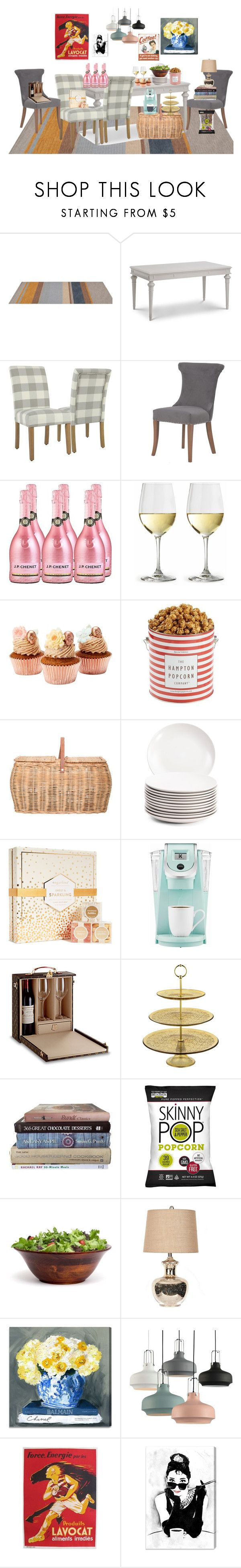 """""""Be the Life of the Party"""" by paris55587 ❤ liked on Polyvore featuring interior, interiors, interior design, home, home decor, interior decorating, The Hampton Popcorn Company, Bloomingville, sugarfina and Keurig"""
