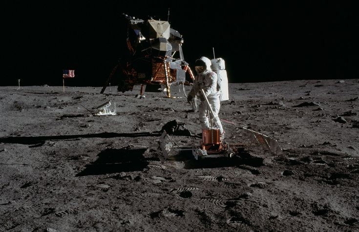 It was the main event: On July 20, 1969, NASA's Apollo 11 crew touched their Eagle lander down on the lunar surface. Here's how Neil Armstrong, Buzz Aldrin and Michael Collins did it.