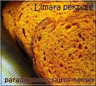 Fűszeres paradicsomos-sajtos kenyér