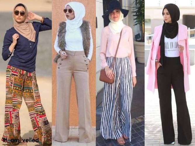 palazzo pants with hijab