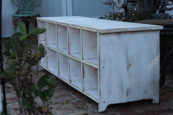 Wood  Shoe Storage  Wooden Furniture  Entryway  by honeystreasures love his work/passion