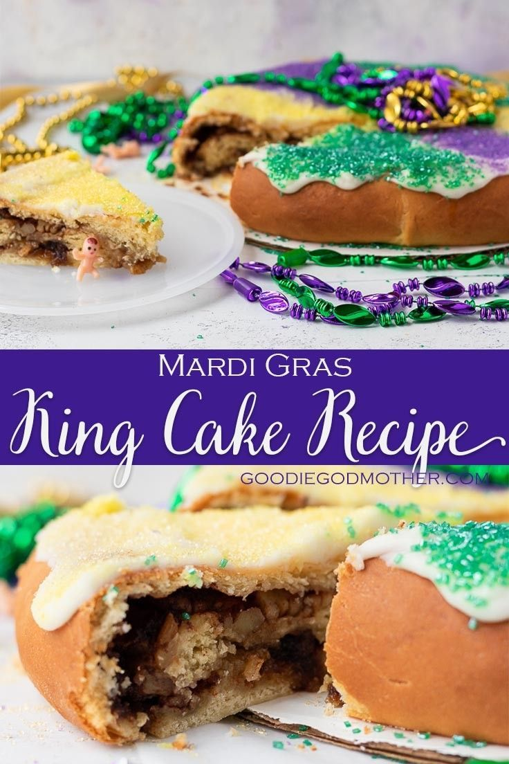 Celebrate Mardi Gras Anywhere With This New Orleans King