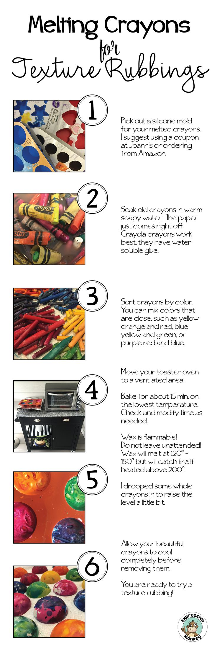 Crayon melting art images amp pictures becuo - Make Chunky Recycled Crayons To Make Your Leaf Rubbings