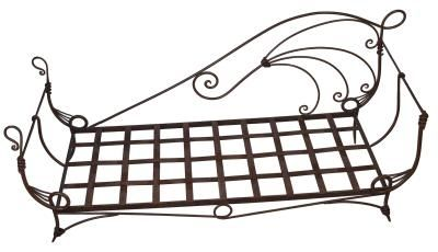 Best 25 wrought iron beds ideas on pinterest wrought for How to paint a metal bed frame
