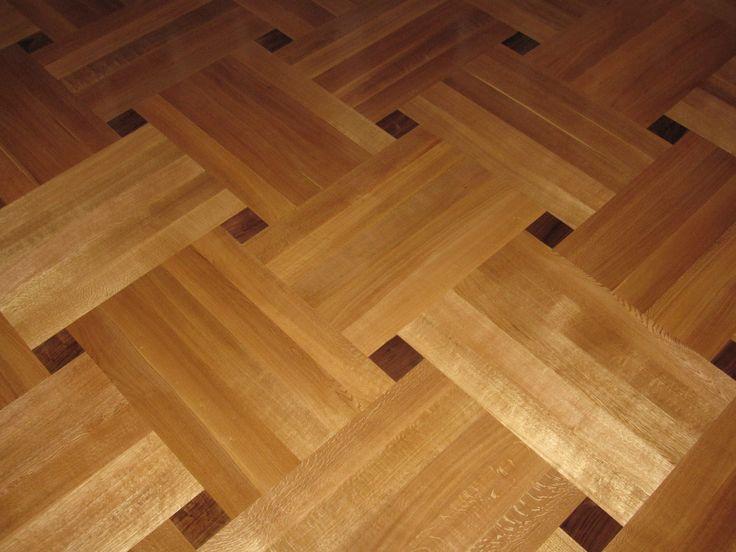 parquet patterns | Basketweave Parquet Pattern in Rift & Quartered White  Oak and Walnut. Wood Floor ... - 25+ Best Ideas About Wood Floor Pattern On Pinterest Parquet