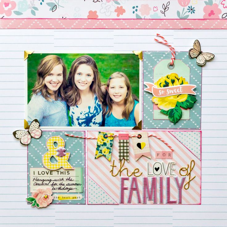 For The Love Of Family Paper Crafting Scrapbooking