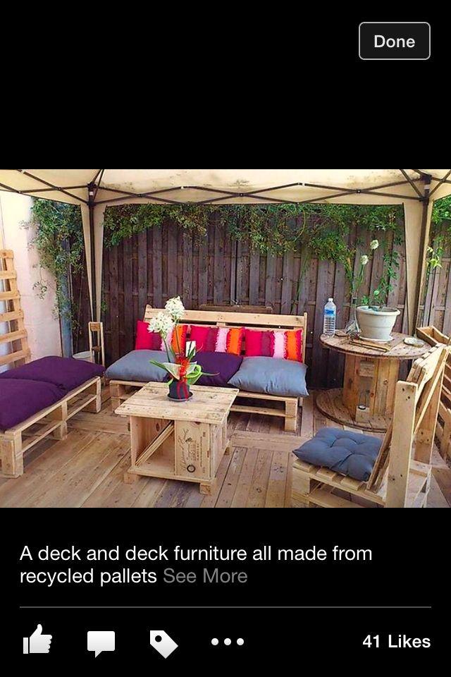134 best images about déco jardin terrasse sur pinterest ...