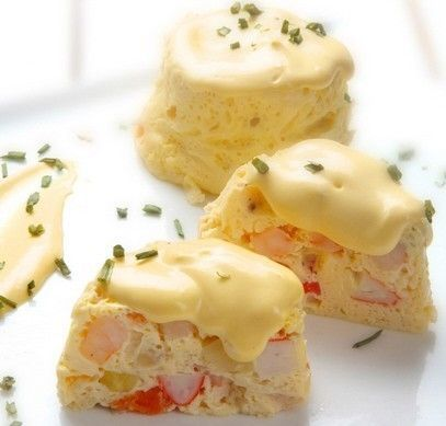 Receta Flanitos de Marisco con Salsa Francesa Ybarra - Ybarra en tu cocina