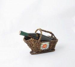 Hasırdan yapılmış dekoratif bir şaraplık. #hasır #dekorasyon #şaraplık Ürünü incele : http://www.keyfipasaj.com/saraplik-cicek