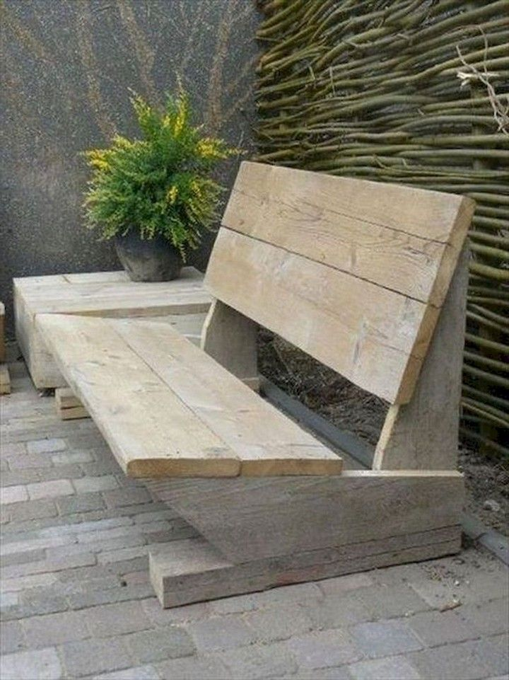 Awesome Outdoor Bench Projects With Images Diy Garden