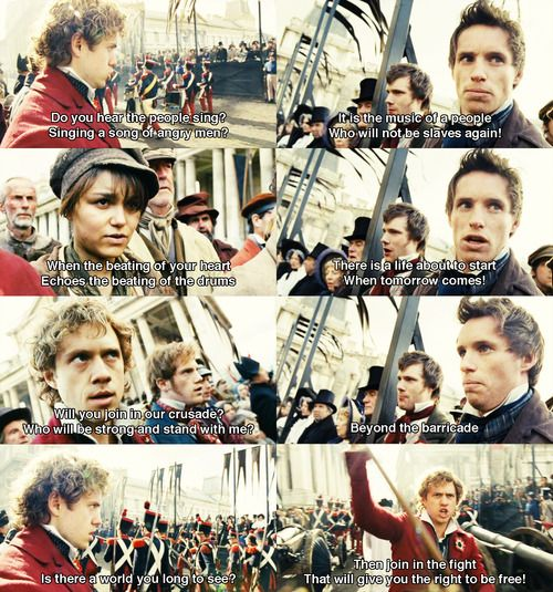 Les Miserables - Do you hear the people sing?