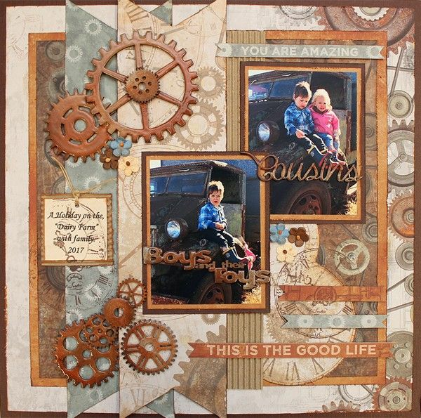 This Is The Good Life - single page  from Paper Roses Scrapbooking ♥ ♥ ♥