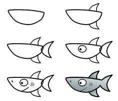 dibujar animales para niños