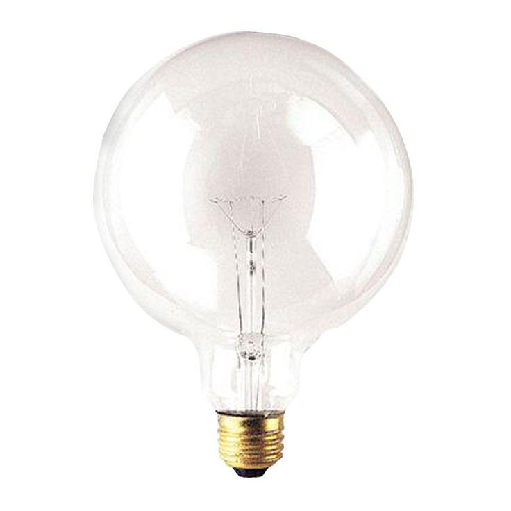 Bulbrite 100 Watt Incandescent G40 Light Bulb 10 Pack Light