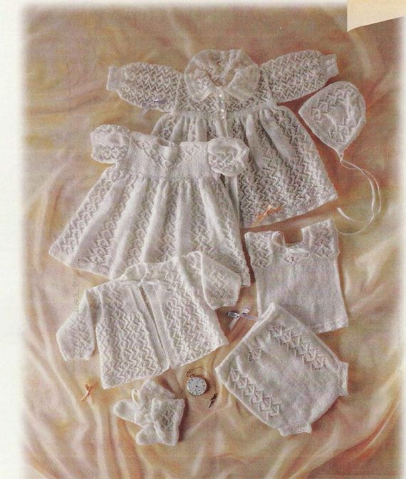 Knitting Pattern  Baby's layette  Carrying coat by ButtercupBB