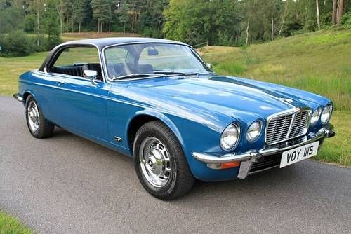 1977 Jaguar XJ6 4.2 Coupe. A lovely car but sadly made in the dark dark days of British leyland . Mine rusted away over one winter . I got rid of it quickly but would like a rust free one if that is possible.