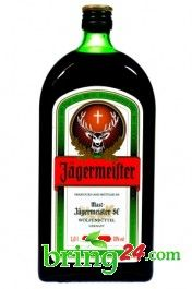 Online-Supermarkt | Jägermeister 35%vol. Kräuterlikör 1l Flasche | bring24.com