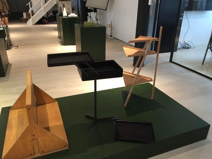 Prototypes in their showroom. #Karakter