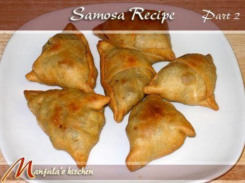 Samosa recept:  http://surinaams-eten.blogspot.nl/2010/02/samosa-hindoestaanse-deegpasteitjes.html
