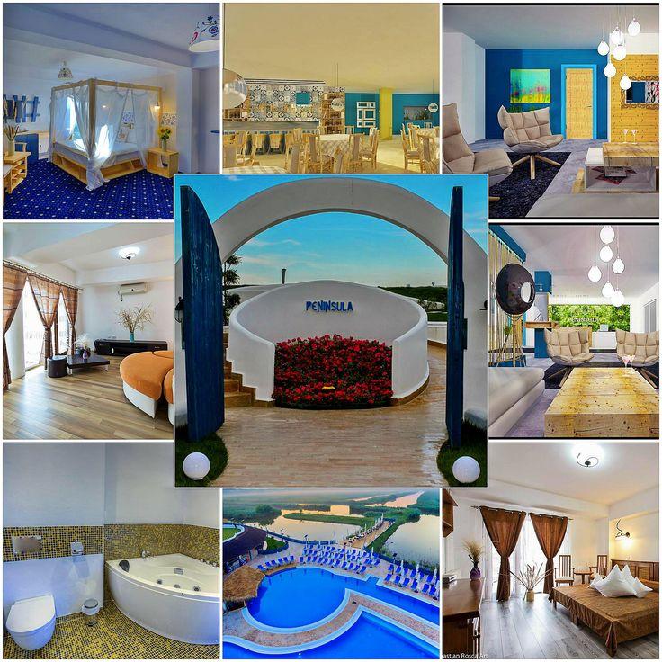 Peninsula Resort – casa ta de vacanta te asteapta ! Este situat în localitatea Murighiol, chiar pe malul lacului.