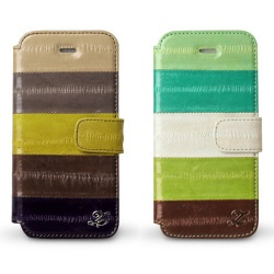 iPhone 5 case made by Eel leather.