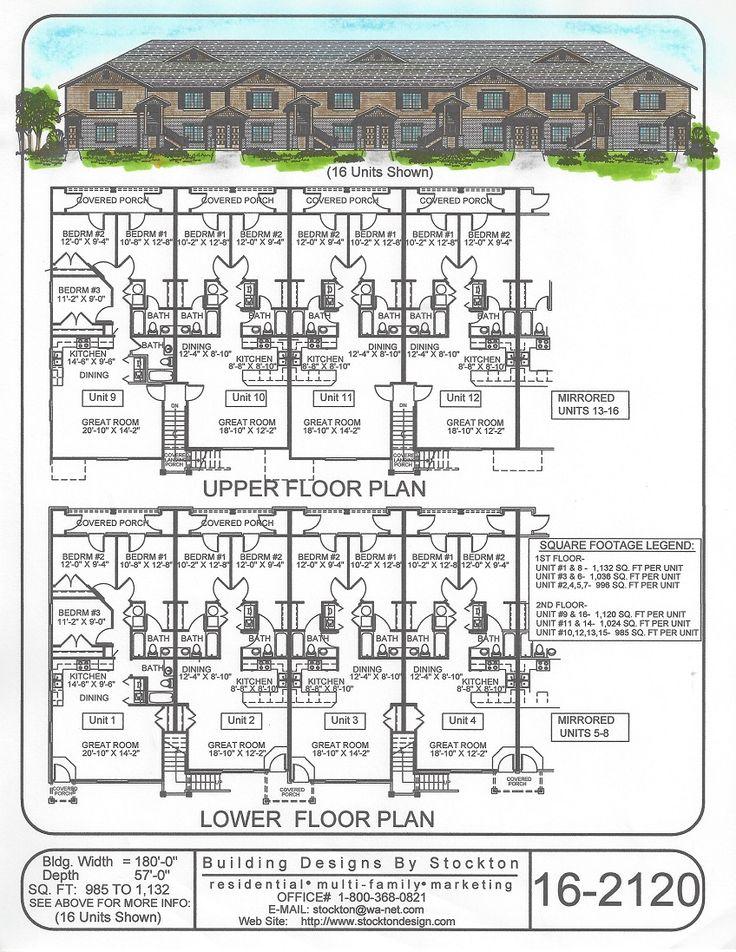 Building Designs by Stockton: Plan # 16-2120