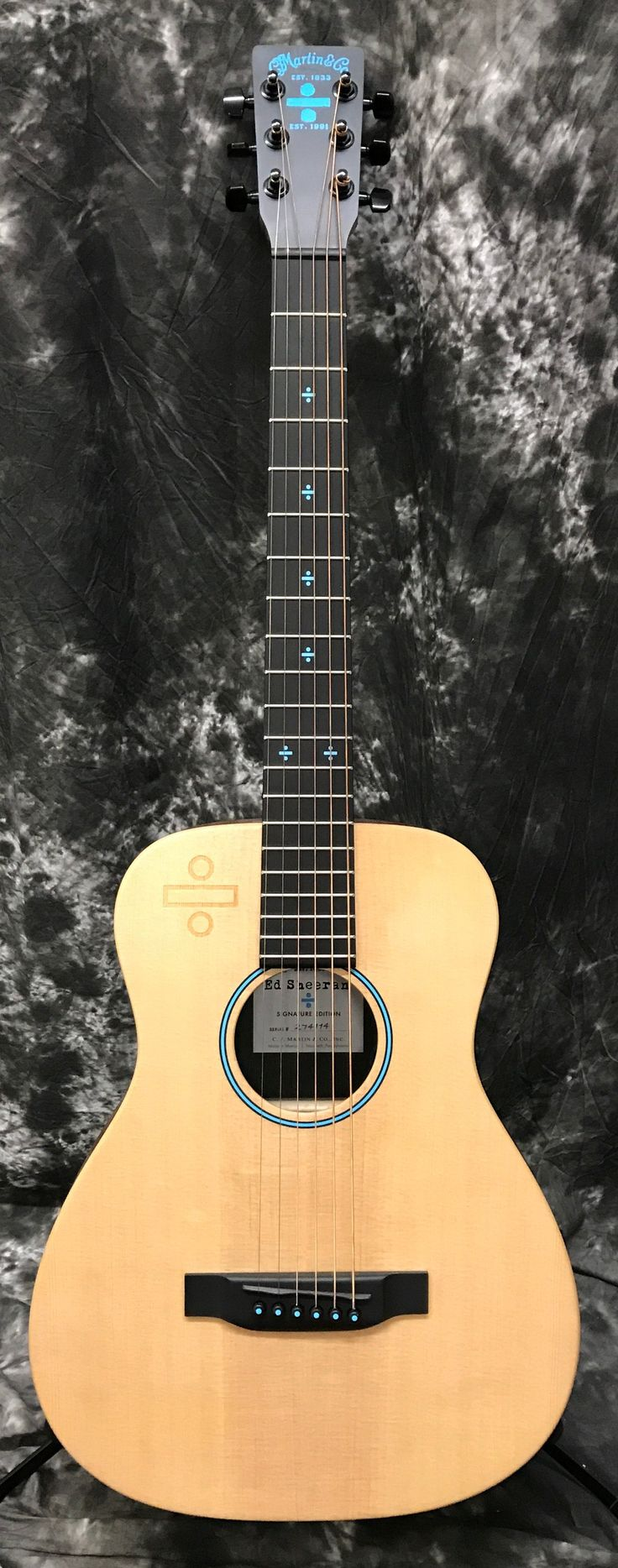 Martin Ed Sheeran 3 Divide ÷ Left Handed Signature Edition Little Martin Acoustic-Electric Guitar w/Gigbag