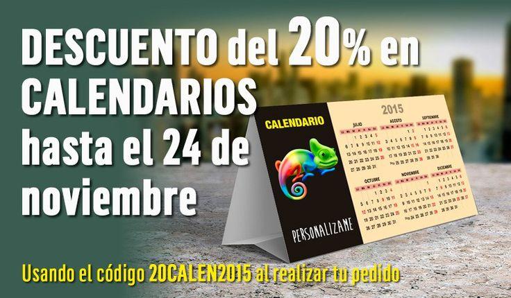 promocion calendarios personalizados www.personalizame.es