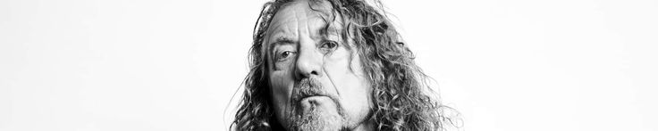 """Robert Plant's official website went black save for the words """"Any time now…"""" in plain white letters across the homepage."""