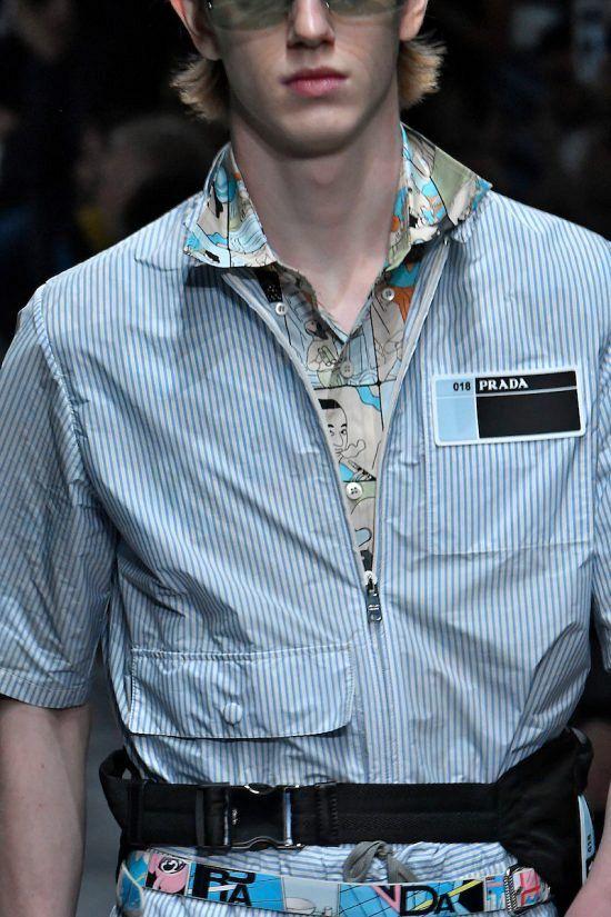 Moda Para Homens: o maravilhoso desfile de verão da Prada