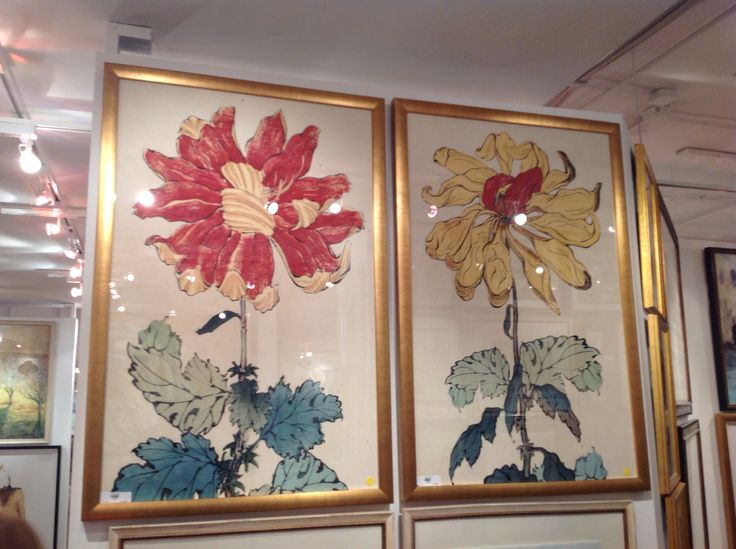 Bold And Fun Prints Large Scale Botanicals Wendover Art